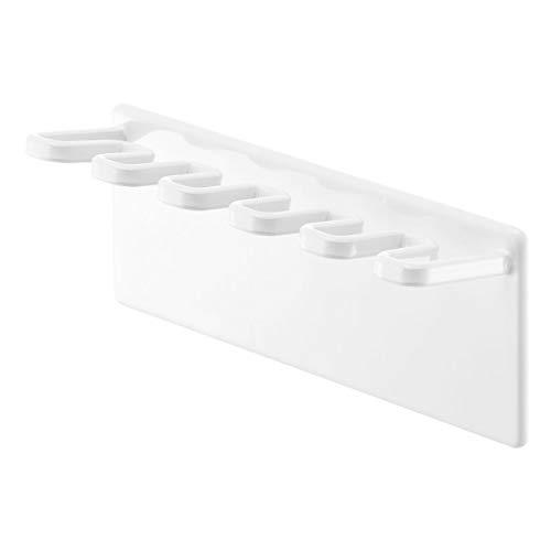 山崎実業(Yamazaki) 歯ブラシスタンド ホワイト 約W13XD3.5XH10cm MIST 4239