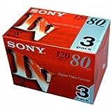 SONY 3DVM80R3 ミニDVカセット 80分 ICメモリーなし 3本組