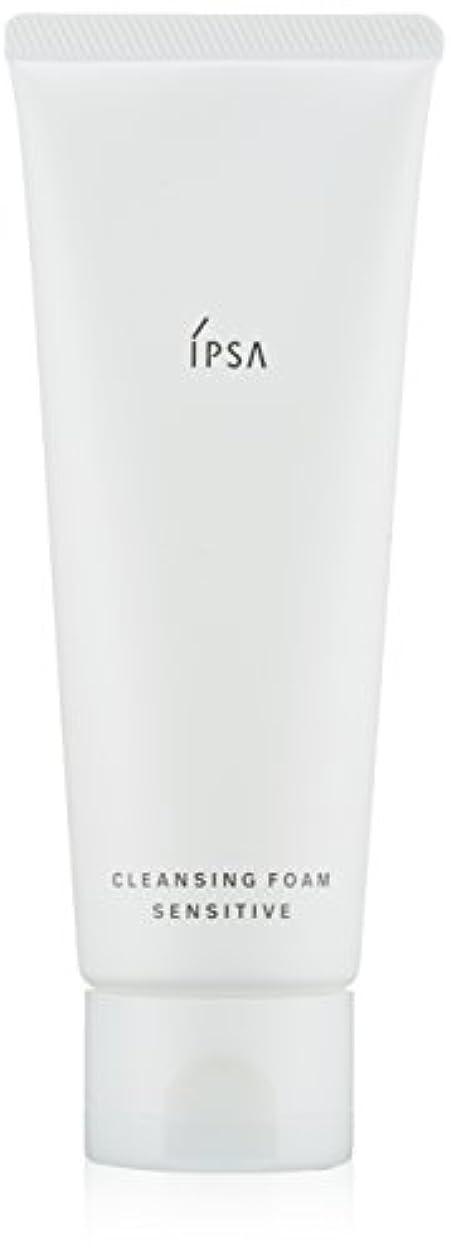 顕微鏡ソーシャル割合【IPSA(イプサ)】クレンジングフォーム センシティブ_125g(洗顔料)