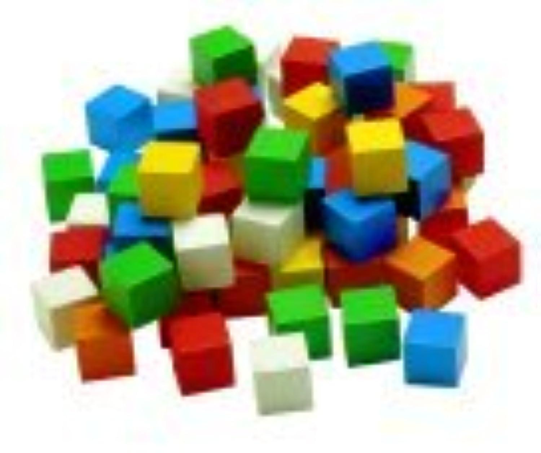 Learning Advantage 1285315 1 in。木製cube44 ; 100パック