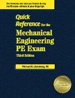 Download Quick Reference for the Mechanical Engineering Pe Exam 1888577142