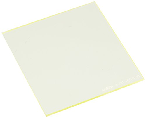 Cokin 角型レンズフィルター A721 YELLOW CC FILTER (CC10Y) 67×72mm 色補正用 167214