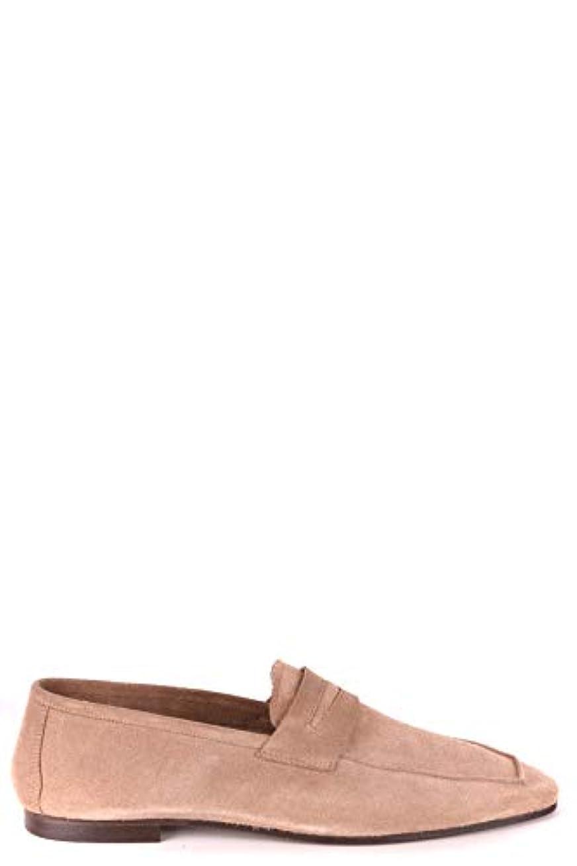 クラシカル警告差し引くDaniele Alessandrini メンズ MCBI086675O ブラウン セーム 布鞋