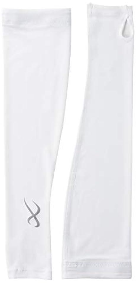 家主ブルジョン経済的[シーダブリューエックス] アームカバー (指掛けタイプ) 吸汗速乾 UVカット レディース HUY419