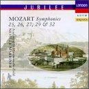 Symphonies 25, 26, 27, 29 &,32