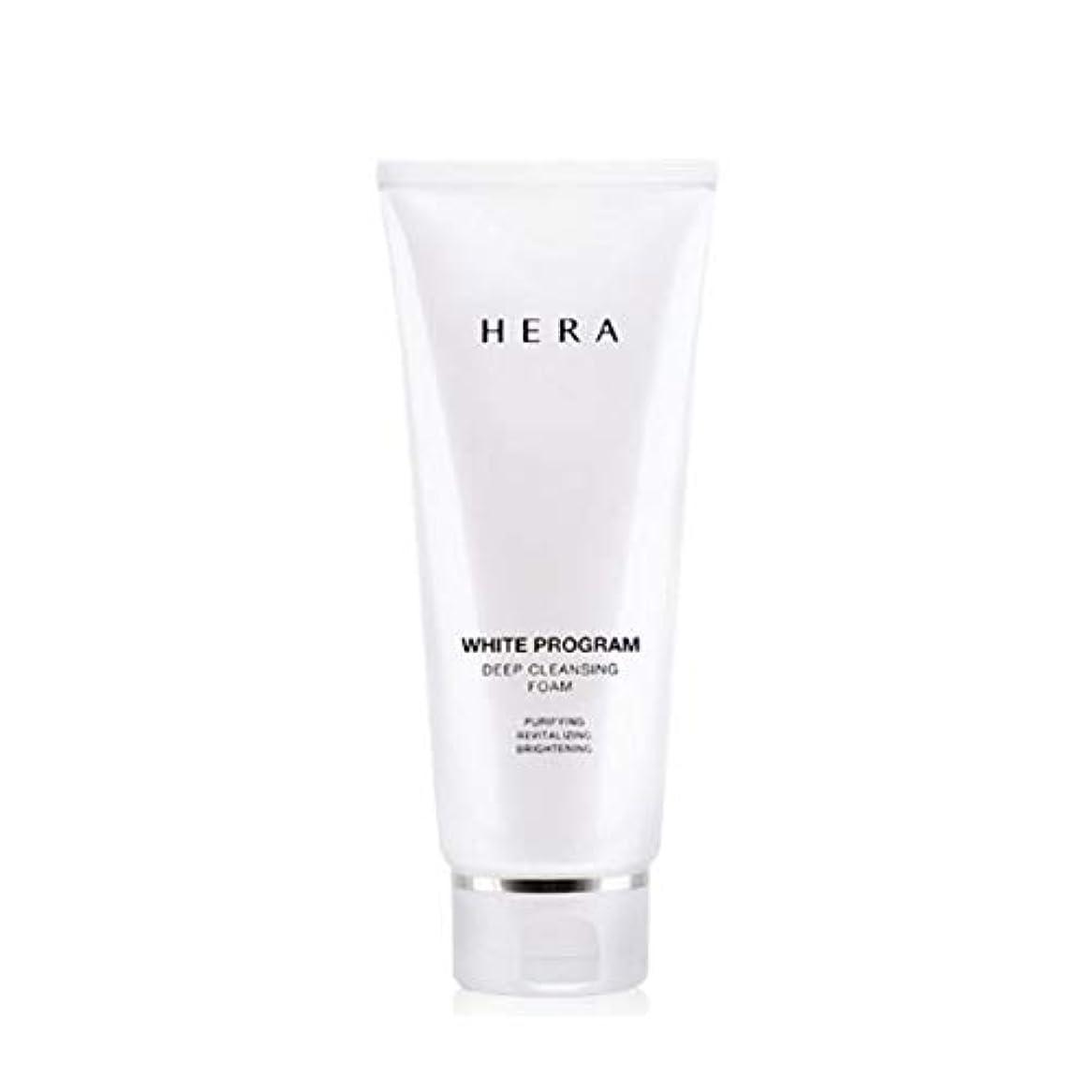 極小エイズ助言ヘラホワイトプログラムディープクレンジングフォーム200ml韓国コスメ、Hera White Program Deep Cleansing Foam 200ml Korean Cosmetics [並行輸入品]