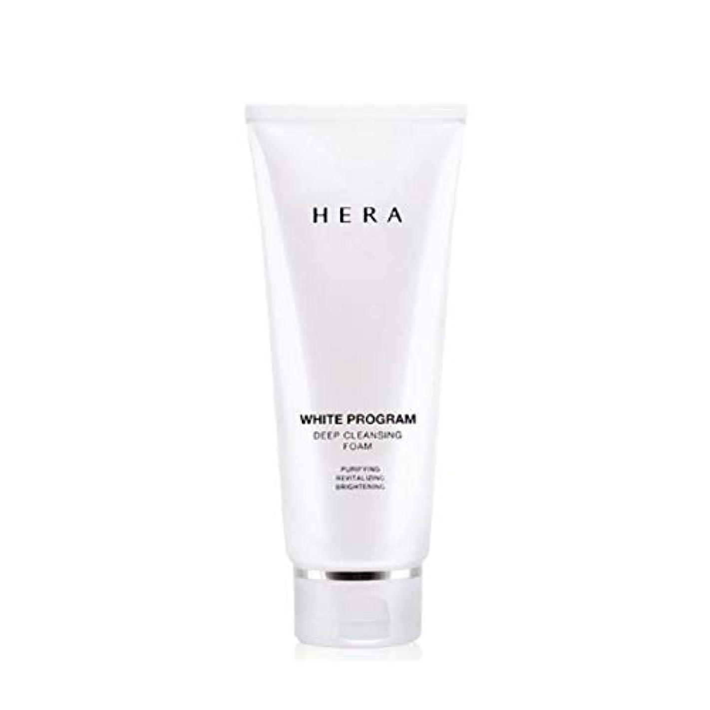啓発する悲しいことに気難しいヘラホワイトプログラムディープクレンジングフォーム200ml韓国コスメ、Hera White Program Deep Cleansing Foam 200ml Korean Cosmetics [並行輸入品]