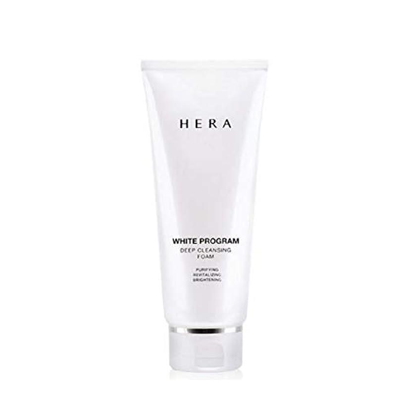 気がついて無声で叫ぶヘラホワイトプログラムディープクレンジングフォーム200ml韓国コスメ、Hera White Program Deep Cleansing Foam 200ml Korean Cosmetics [並行輸入品]