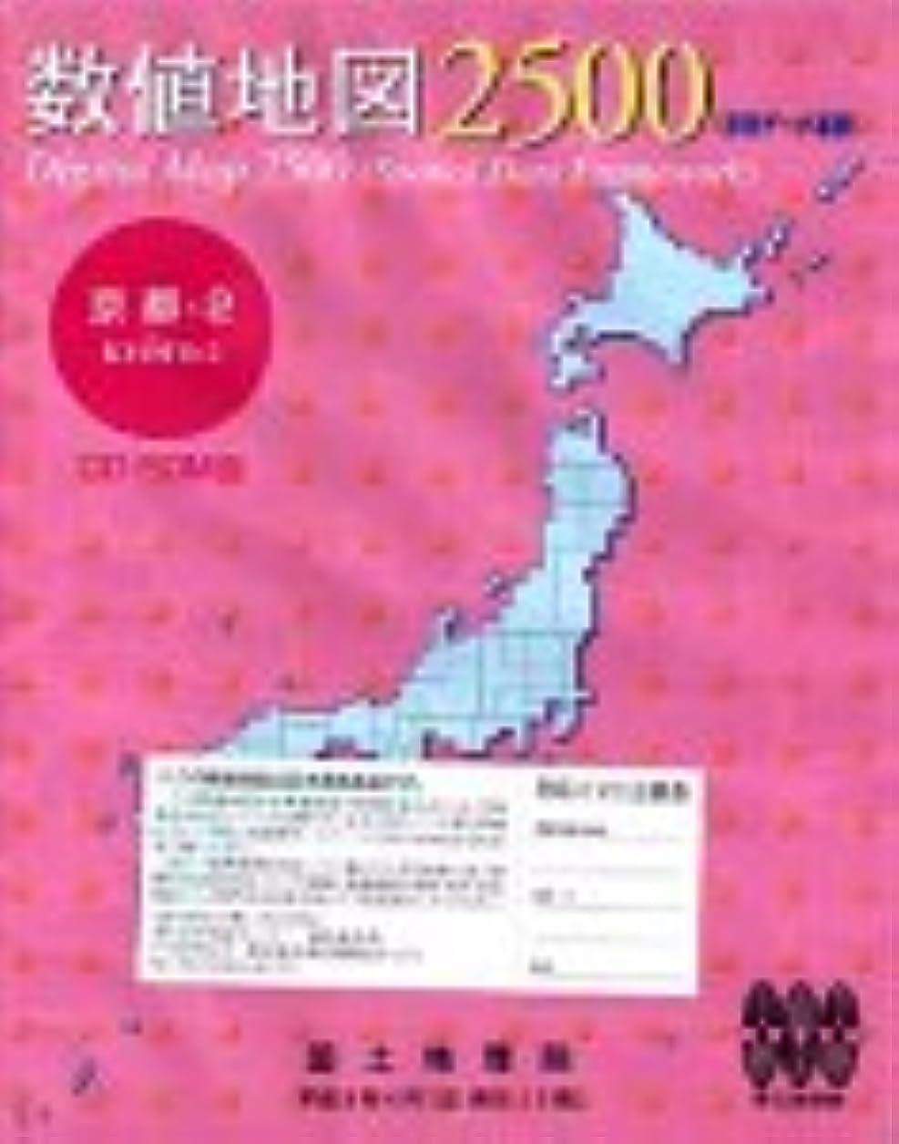 マトンドレス連帯数値地図 2500 (空間データ基盤) 京都-2
