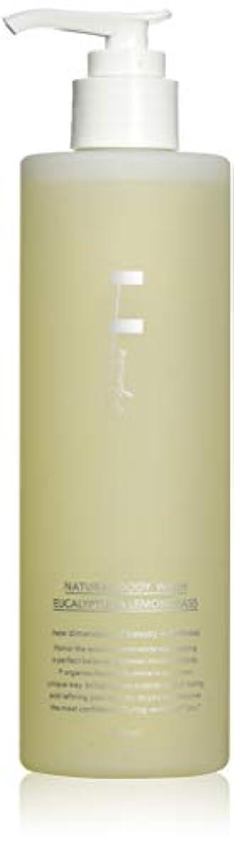 暴動吐く生きているF organics(エッフェオーガニック) ナチュラルボディウォッシュ ユーカリ&レモングラス 300mL