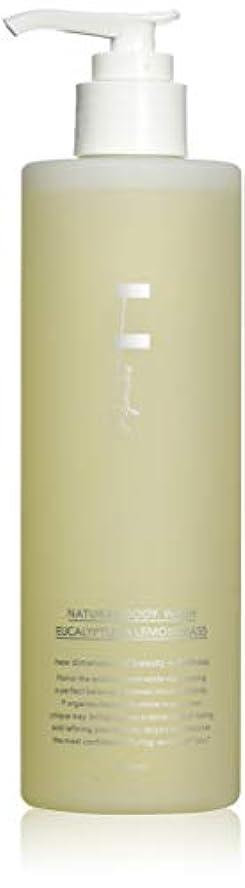 プライバシー肩をすくめるクライマックスF organics(エッフェオーガニック) ナチュラルボディウォッシュ ユーカリ&レモングラス 300ml