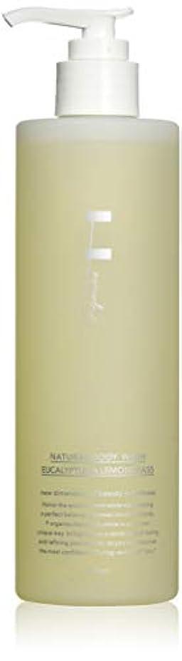 スタウト該当するリーフレットF organics(エッフェオーガニック) ナチュラルボディウォッシュ ユーカリ&レモングラス 300ml