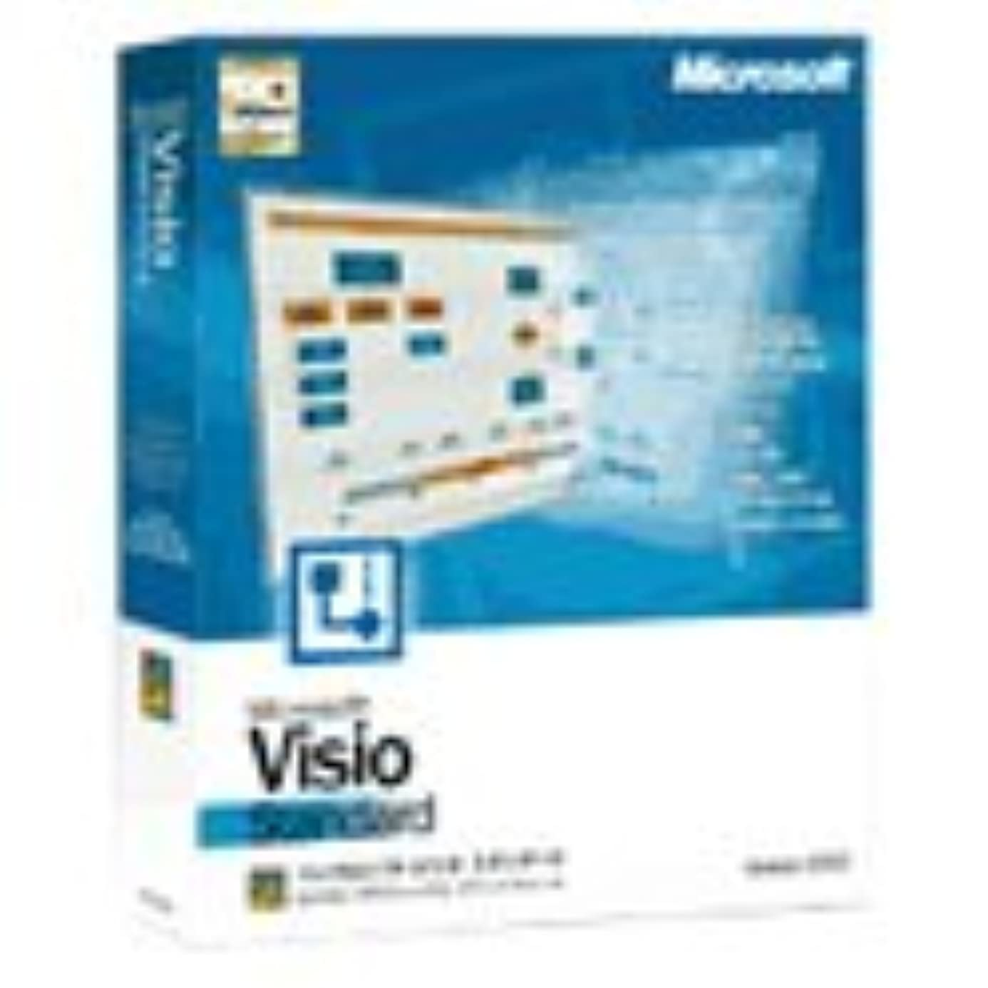 パッド騒々しい砂漠【旧商品】Microsoft Visio Standard Version 2002