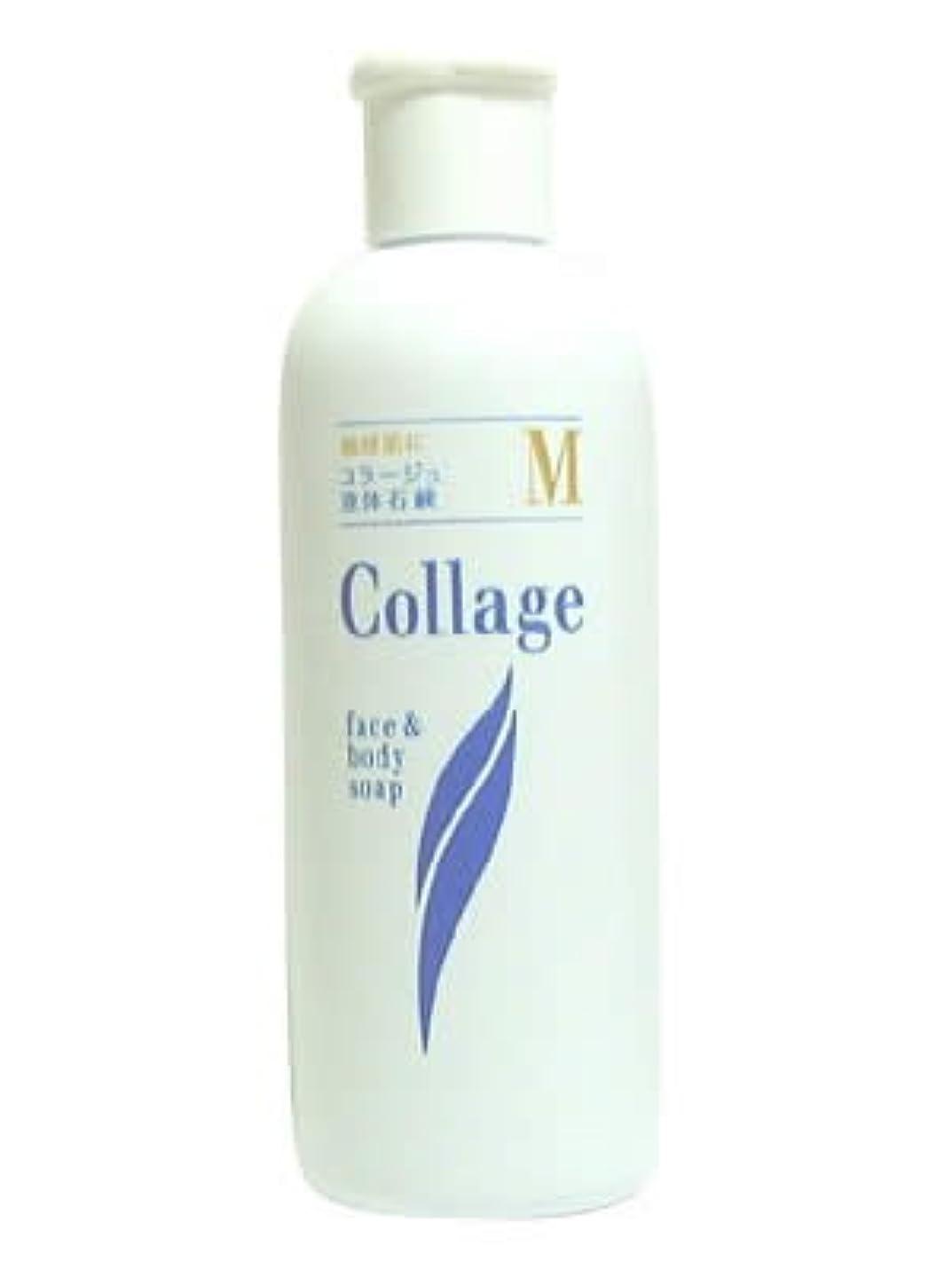 満足集中平らなコラージュ M液体石鹸 200mL