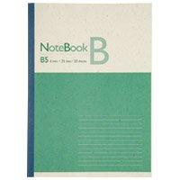 スマートバリュー 再生紙ノート セミB5 B罫1冊 P042J