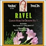 Ravel:Cpte.Orch.Works Vol.1