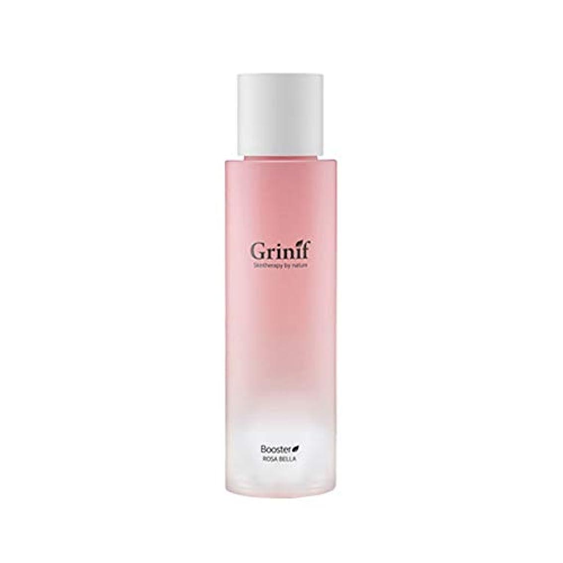 南西仕事気性[Grinif] グリーニフ Rosa Bella Booster - ローザベラ ブースター - バラエキス 87% 保湿 トナー Pure Rose Water Hydrating Facial Toner Skin Booster(Rose Water 87%) Korean Skincare