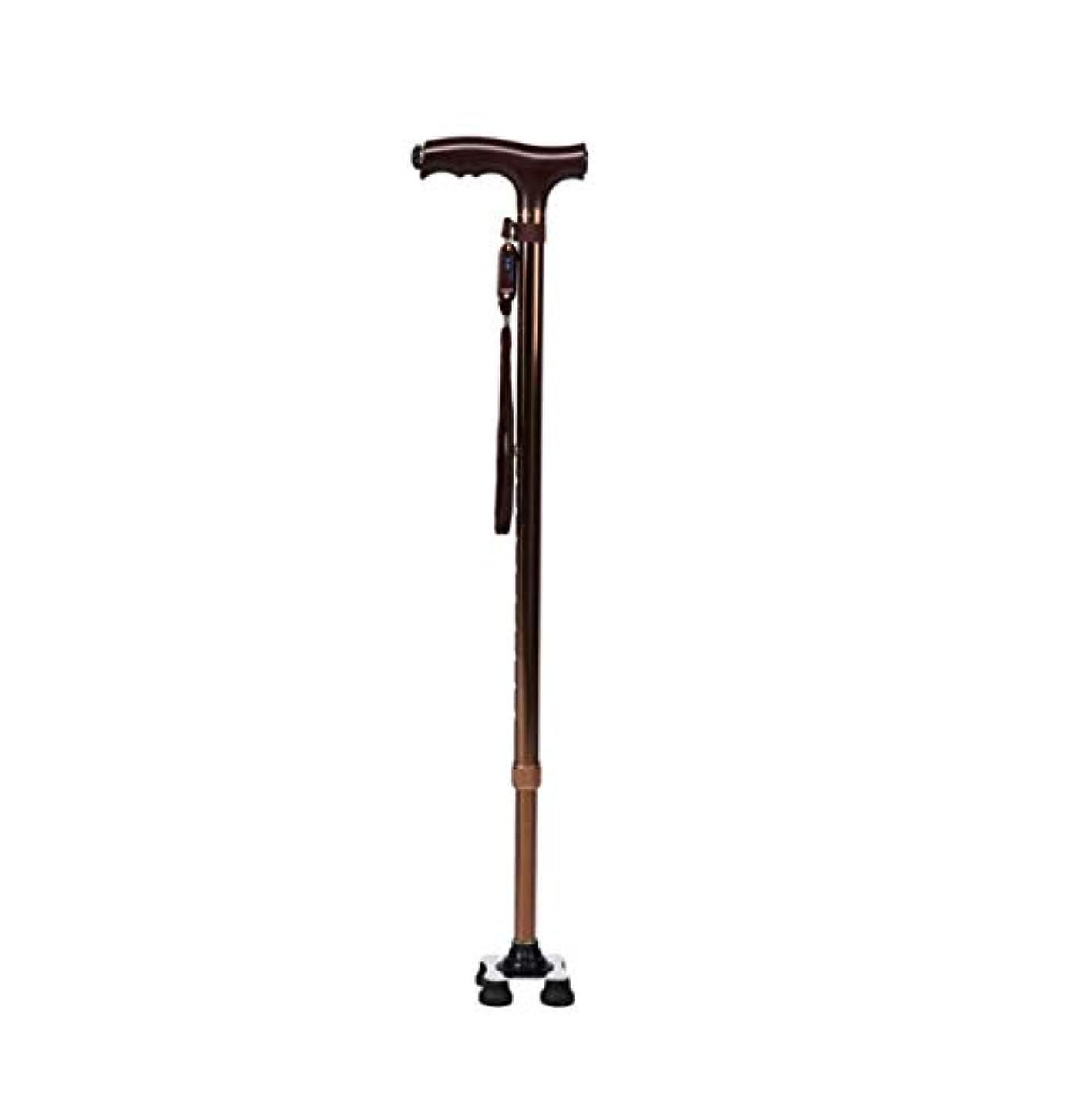 理想的局疑問を超えて高齢者用歩行杖、デュアルユース歩行用スティックサポート、1フィートまたは4フィートのLEDライトを内蔵