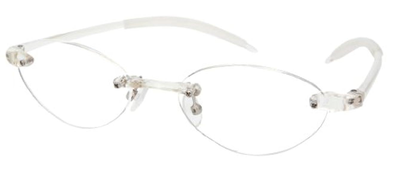 シニアフレックス(SENIOR FLEX) 調弾性リーディンググラス レディース +3.00 SF01 【老眼鏡】