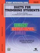 Alfred Publishing 00-BIC00260A Student Instrumental Course: Duets for Trombone Students Level II - Music Book