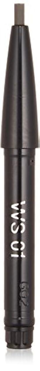 勘違いする圧力オーロックキッカ エンスローリング アイブロウペンシル W (リフィル) 01 ライトアッシュ&ダークアッシュ WS アイブロウ