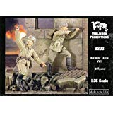 Verlinden 1: 35Red Army Charge 2Resin Figuresキット# 2203