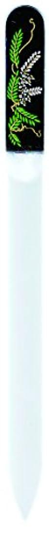 センターに対応差し迫った橋本漆芸 ブラジェク製高級爪ヤスリ 四月 藤 紙箱