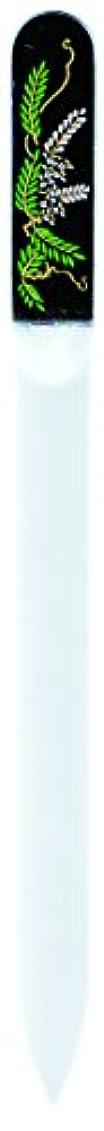 不規則性石灰岩ショッピングセンター橋本漆芸 ブラジェク製高級爪ヤスリ 四月 藤 紙箱