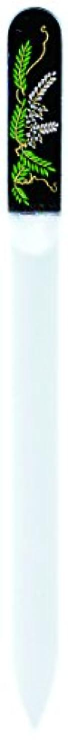 肘掛け椅子期待して新聞橋本漆芸 ブラジェク製高級爪ヤスリ 四月 藤 紙箱