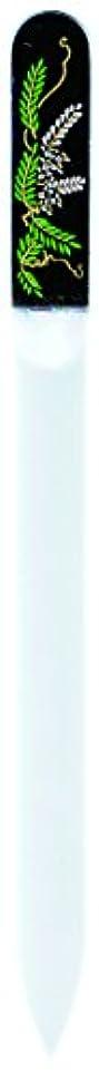 嵐言い聞かせる結果橋本漆芸 ブラジェク製高級爪ヤスリ 四月 藤 紙箱