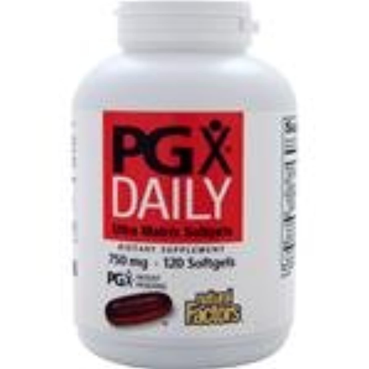 PGXデイリー (750mg) 120 sgels   2個パック