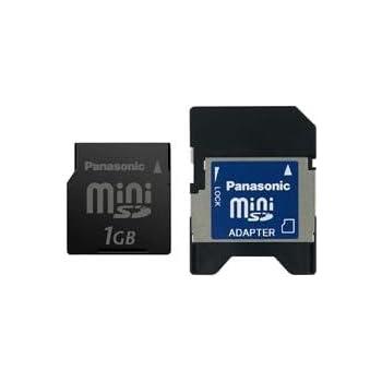 Panasonic RP-SS01GBJ1K 1GB miniSDカード