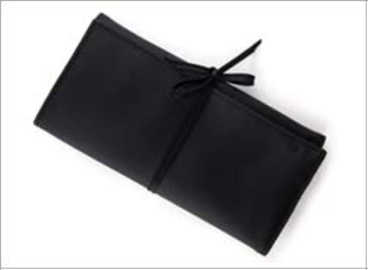 メロディー無しフロンティア熊野筆 竹宝堂 正規品 ブラシケース(化粧ポーチ) C-24 材質:ナイロン(三つ折り) 広島 化粧筆