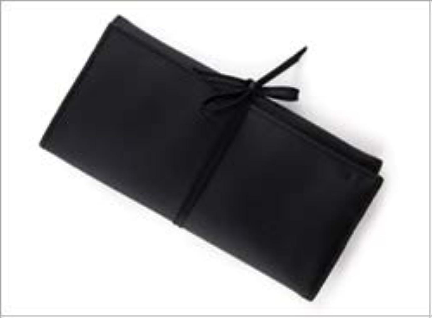 急行する橋脚父方の熊野筆 竹宝堂 正規品 ブラシケース(化粧ポーチ) C-24 材質:ナイロン(三つ折り) 広島 化粧筆