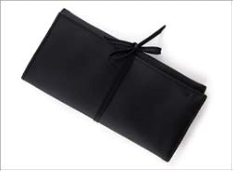 レキシコンねじれくしゃみ熊野筆 竹宝堂 正規品 ブラシケース(化粧ポーチ) C-24 材質:ナイロン(三つ折り) 広島 化粧筆