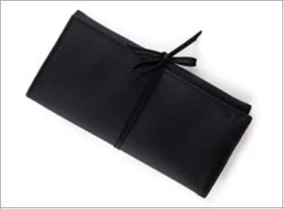 ペダル抑制する量熊野筆 竹宝堂 正規品 ブラシケース(化粧ポーチ) C-24 材質:ナイロン(三つ折り) 広島 化粧筆