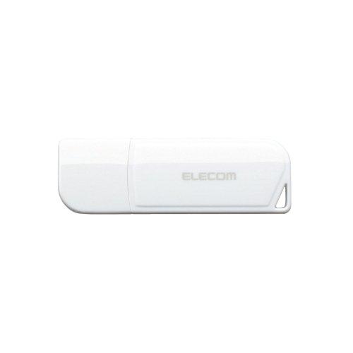 エレコム USBメモリ 16GB USB2.0 ホワイト MF-HMU216GWH