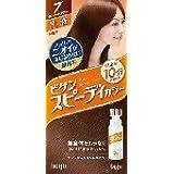 ホーユー ビゲン スピィーディーカラー 乳液 7 (深いダークブラウン) 40g+60mL ×6個