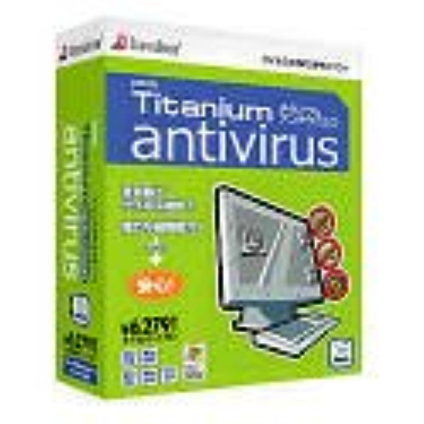 振幅シャープ補うPanda Titanium Antivirus