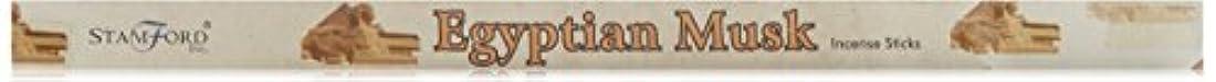 スペインワークショップ飲み込む37065 Stamford Square Pack Incense Sticks Egyptian Musk