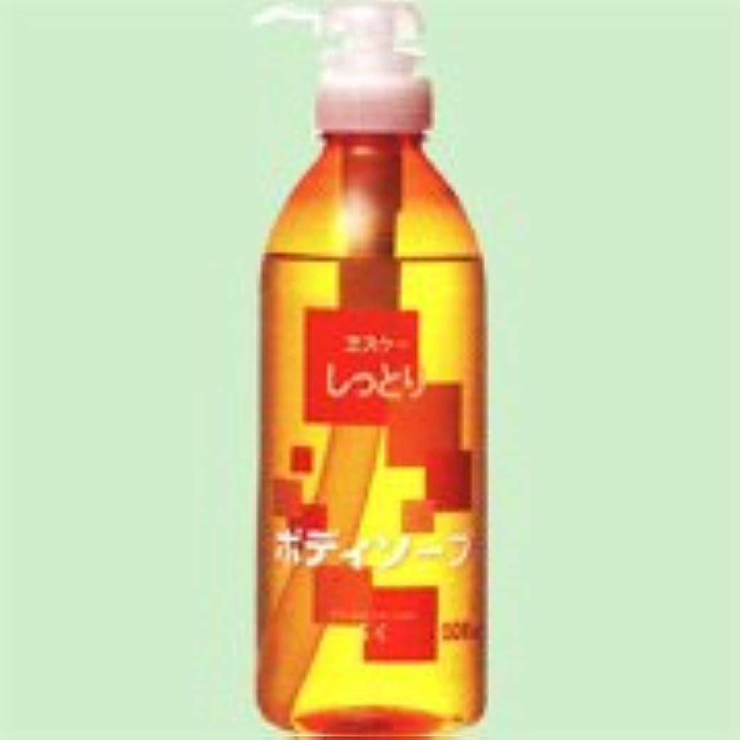 便益化学薬品保守可能しっとりボディソープ 500ml    エスケー石鹸