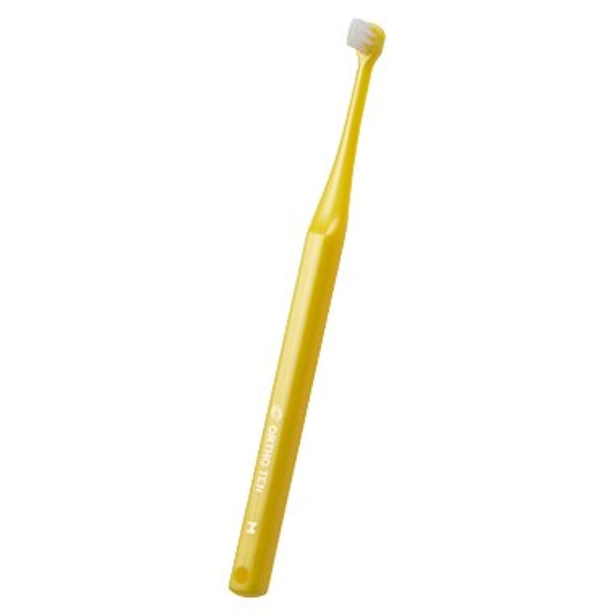 ノベルティ夜明けに専門用語ORTHOTEN オーソテン 歯ブラシ 1本 規格パールイエロー