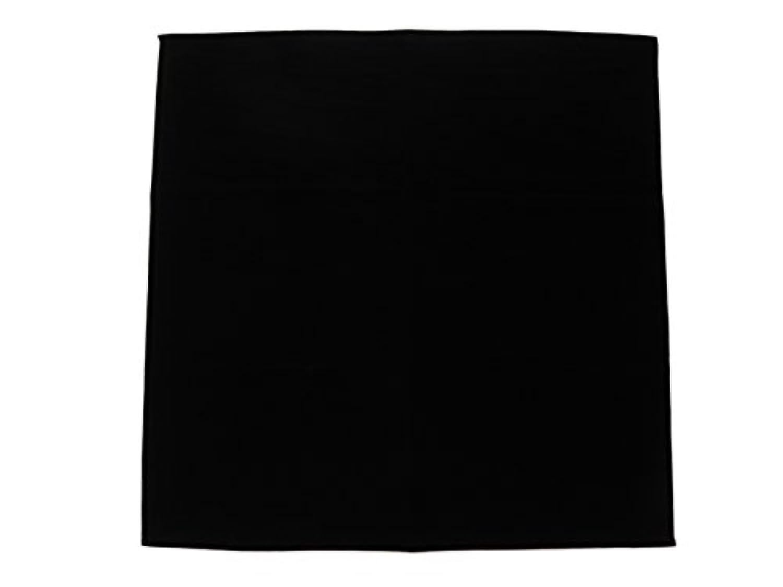 ShanTrip 大判 ベルベット タロットクロス マット タロット 占い (61×61cm, ブラック)