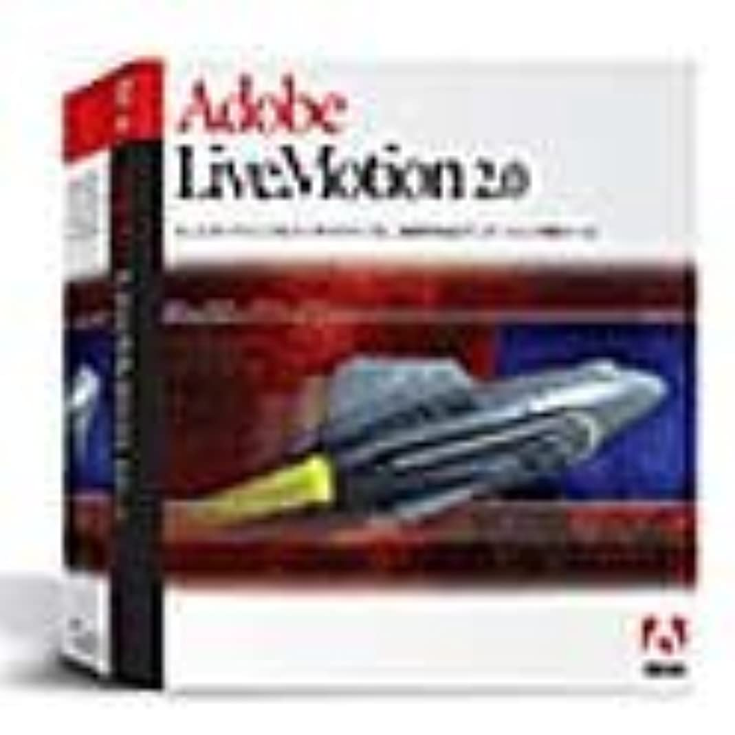 不足木製パステルAdobe LiveMotion 2.0 日本語版 Windows版