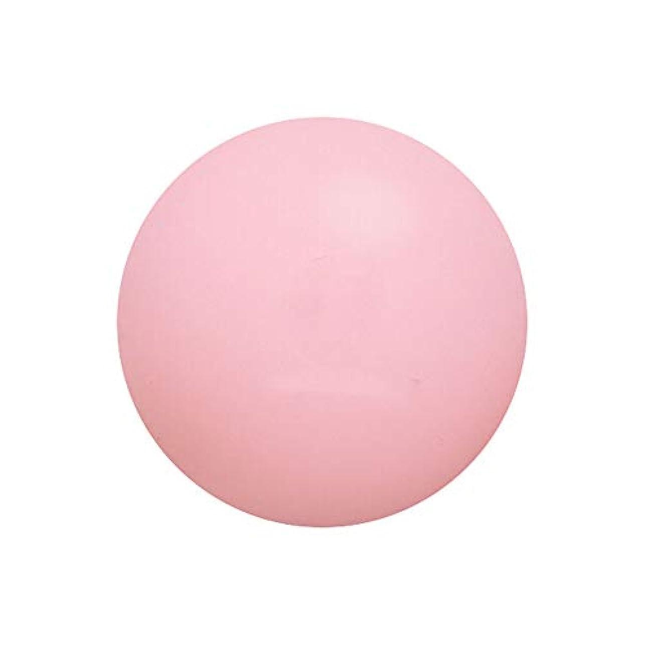 不正直ナチュラル診断する筋肉をなだめる筋膜ボール深いなだめるリリーフリリーフ痛み痛みフィットネスボールヨガボール形状ライングリーンピンク6.5 cm 3ピース