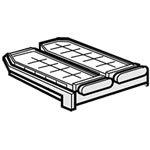 シャープ[SHARP] オプション・消耗品 【2014161499】 冷蔵庫用 製氷皿(201 416 1499) カラー:ナチュラル色