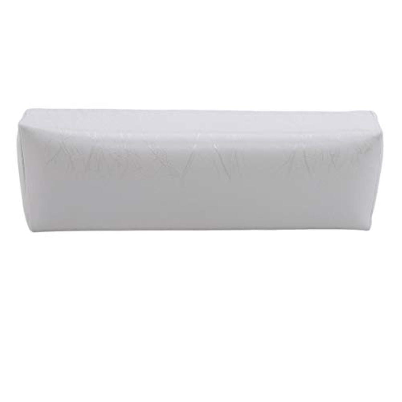 渦百万電気技師HKUN プロのネイルアートツール ケアツール 洗える 手枕クッション ネイルアートホルダー ソフトアームレスト用 ネイルケア用 マニキュアネイル用品 白色