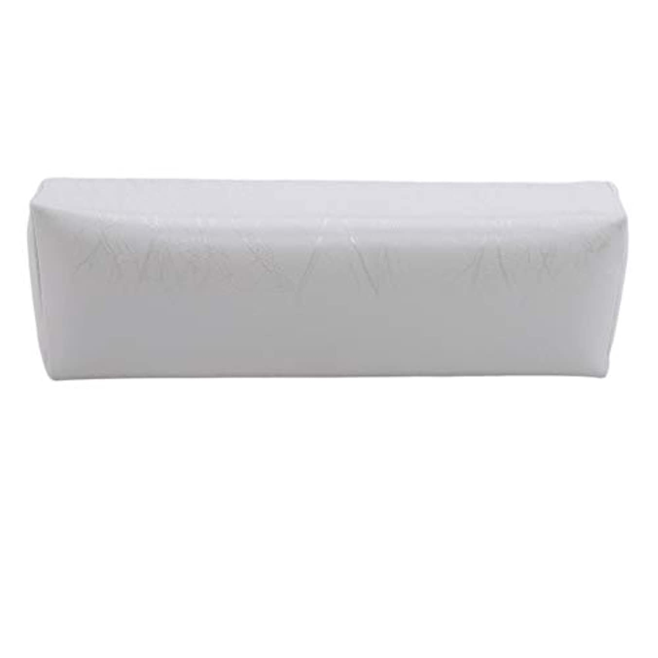 ハンディショット私たち自身HKUN プロのネイルアートツール ケアツール 洗える 手枕クッション ネイルアートホルダー ソフトアームレスト用 ネイルケア用 マニキュアネイル用品 白色