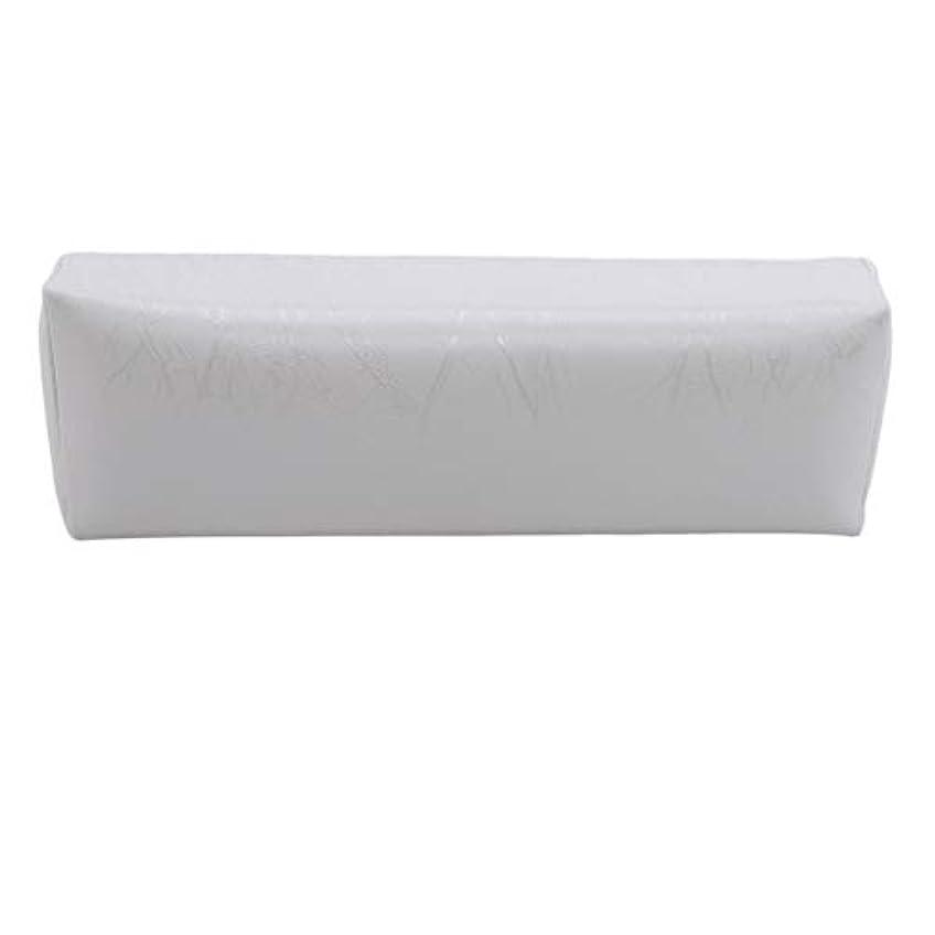 受け入れた仕方くぼみHKUN プロのネイルアートツール ケアツール 洗える 手枕クッション ネイルアートホルダー ソフトアームレスト用 ネイルケア用 マニキュアネイル用品 白色