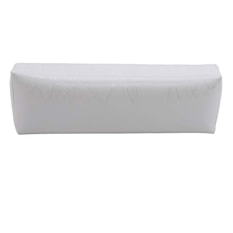 賢明な言い聞かせる残基HKUN プロのネイルアートツール ケアツール 洗える 手枕クッション ネイルアートホルダー ソフトアームレスト用 ネイルケア用 マニキュアネイル用品 白色